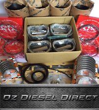 V2203 IDI Overhaul Rebuild kit + liner for Kubota V2203 Thomas bobcat Scat Track