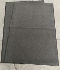 2x B-grade Antideslizante 6x4 Dirt Trampero Alfombra taller Kennel estable alfombra Mat
