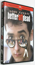 Better Off Dead Dvd 1985 Dumped Teen John Cusack Unsuccessful Suicide Attempts