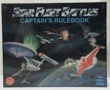 Star Fleet Battles Captain's Rulebook Boxed Set Game Task Force 1991 NEW SEALED