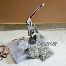 Manual Machine For Fabric Snap Grommets For Shirts With Two Dies & Free Buttons