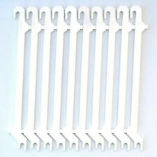 10 Invisalign Aligner Retainer Remover Tool Push-Pull Wide Hook Removal WHITE