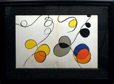 Alexander Calder Original Art Lithograph, Custom Framed, Make Offer!