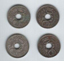 lot 4 piece monnaie 10 centimes cts lindauer 1917
