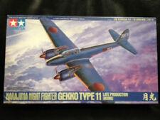 TAMIYA NAKAJIMA NIGHT FIGHTER GEKKO TYPE 11 1:48 Scale Aircraft #61078