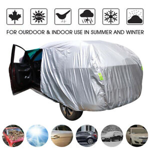 WaterProof Full Car Cover For SUV Van Truck In Out Door Dust UV Ray Rain Snow