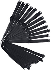 Shoulder Bra Straps Black Replacement 12mm