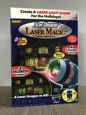 BNIB Star Shower Laser Magic Christmas and Halloween Green Red Laser Light Show