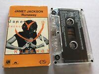 JANET JACKSON...RUNAWAY - - 1995 Australian Cassette Single