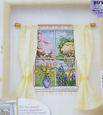 Spring Blooms & lakeside view Cross Stitch Chart - Maria Diaz