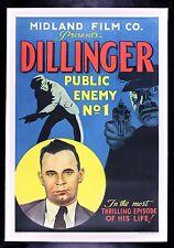 JOHN DILLINGER PUBLIC ENEMY NO 1 ✯ CineMasterpieces 1934 VINTAGE MOVIE POSTER