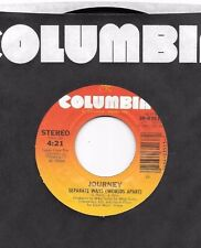 JOURNEY * 45 * Separate Ways Worlds Apart * 1983 # 8 * UNPLAYED From Factory Box