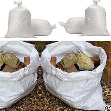 More details for woven large extra heavy duty rubble sand bag sacks polypropylene builder