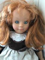 Engel-Puppen Puppe Mädchen Rote Haare Schwenk Rödental 48 cm Top Zustand