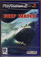 PS2 agua profunda (2005), PAL UK TOTALMENTE NUEVO y sellado de fábrica Sony