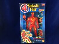 Toy Biz 1994 Fantastic Four Deluxe Human Torch Figure Poseable Marvel #45502