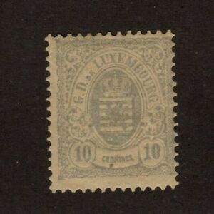 Luxembourg 43 Mint OG F Catalog $160