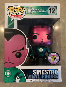 Sinestro Funko Pop SDCC METALIC Exclusive (Limited 480)  Mint in Box MIB