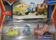 Pixar Cars Supercharged Luigi,Guido & Tractor