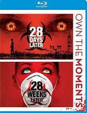 28 Days Later / 28 Weeks Later Double Feature Blu-ray Free Shipping