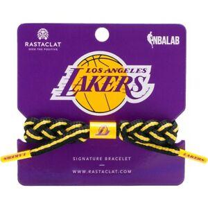 Los Angeles Lakers Rastaclat Signature bracelet NEW IN PACKAGE NBA black & gold
