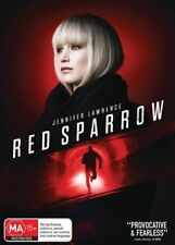 Red Sparrow (DVD 2018) NEW AND SEALED Genuine Aussie Release Region 4
