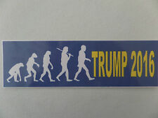 """DONALD TRUMP, """"THE EVOLUTION OF A PRESIDENT"""" APES TO TRUMP 2016"""