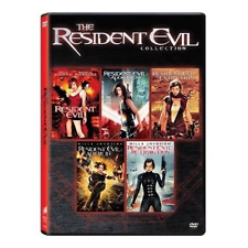 Resident Evil: Complete Milla Jovovich Movies Series 1 2 3 4 5 Box/DVD Set NEW!