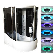Cabina idromassaggio 170x90 con vasca massaggio plantare radio e cromoterapia |c