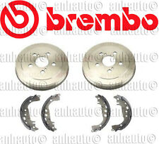 Brembo Rear Brake Drums + Shoes for Toyota Corolla Prius