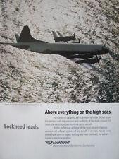 11/1992 PUB LOCKHEED P-3 ORION MARITIME PATROL AIRCRAFT US NAVY ASW ASM AD