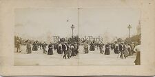 Expo universelle 1900 Paris Instantané Vintage stereo stereoview amateur citrate