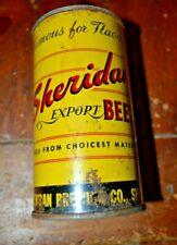 Sheridan Export Beer Flat Top Beer Can Displays Well