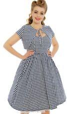 877c2b392c38 Lindy Bop Liana Blue Gingham Dress & Bolero size 14