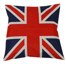 British Retro Stil Union Jack Fahne Dekokissen Case Kissenbezug W0V7