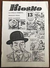 KIOSKO Bollettino # 13 - Dossier Charlie Chan - Dicembre 1984