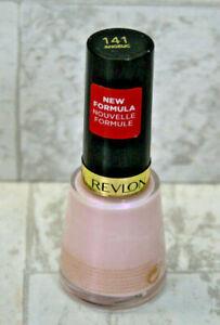 Revlon Nail Enamel Polish -  Color 141 Angelic (Pink)