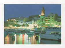 Costa Brava Palamos Vista Nocturna 1992 Postcard Spain 567a