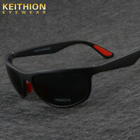 KEITHION New TR-90 Sports Polarized Sunglasses Men Cycling Riding UV400 Goggle