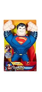 "DC Comics Superman Man of Steel Hero Buddies 14"" Talking Plush Soft Toy - NIDP"
