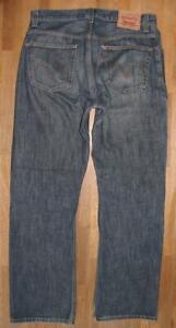 """ LEVI`S 557 "" Herren- JEANS / LEVIS RELAXED BOOTCUT Jeans in blau W34"" /L34"""