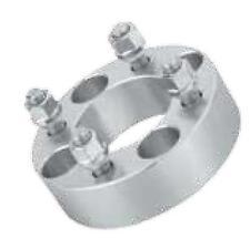 QuadBoss ATV UTV Wheel Spacers 4/110 2 (Pair) M12x1.5 200-411074-1215 56-3888