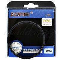 Zomei 67mm CIR-PL Circular Polarizing CPL FILTER For Canon Nikon Camera Lens