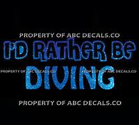 CLIFF DIVER Vinyl Decal Sticker B