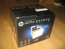 New HP Laserjet Pro M477fnw Color Laser All In One Printer w/wrty $529 NO TONER!