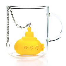 Submarine Tea Infuser Loose Leaf Strainer Herbal Spice Silicone Filter Diffuser