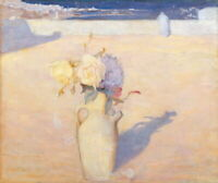 Charles Conder The Hot Sands Mustapha Algiers Giclee Canvas Print Poster