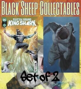 Suicide Squad King Shark 1 Cover A & B set ….. READY TO SHIP NOW