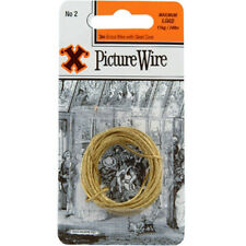 X Hooks Blister Picture Wire No.2