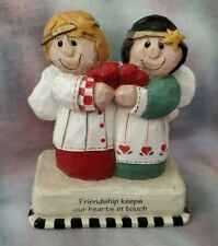 Eddie Walker for Midwest of Cannon Falls Angels figurine, Friendship themed, Euc
